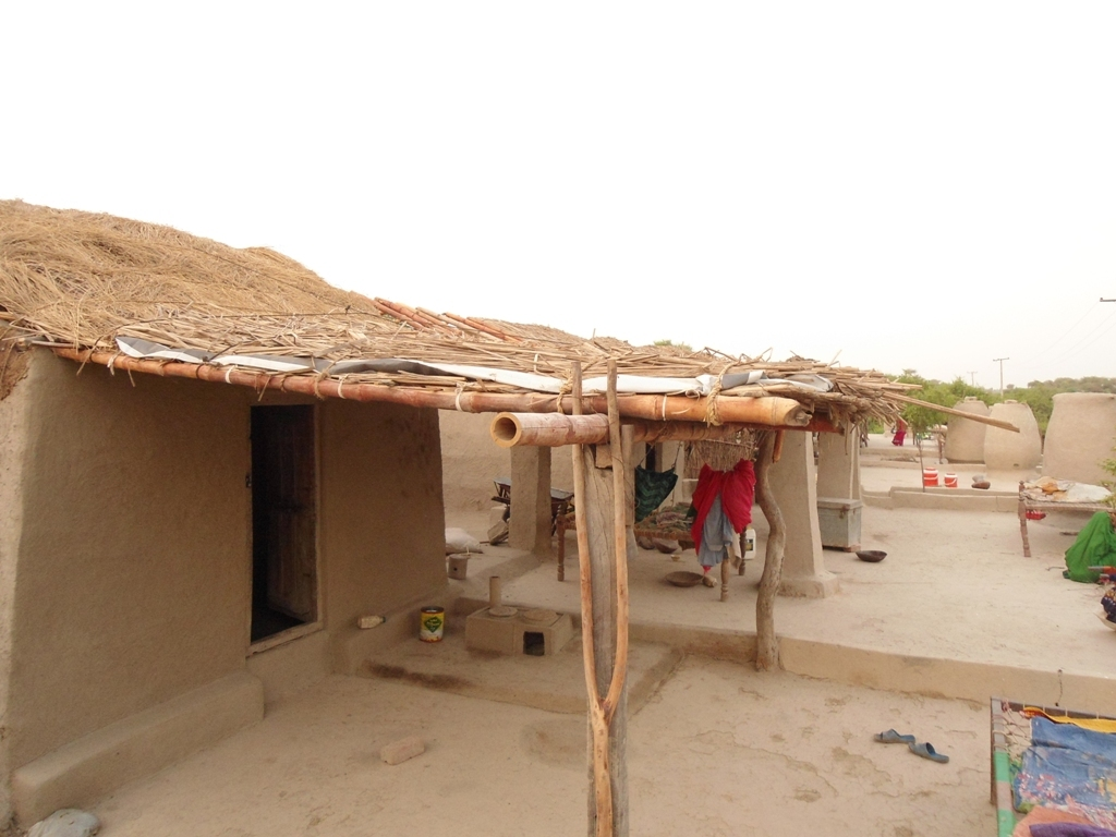 New houses constructed villagers UC Dubi, by AHD
