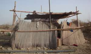 Some families still living in very poor condition