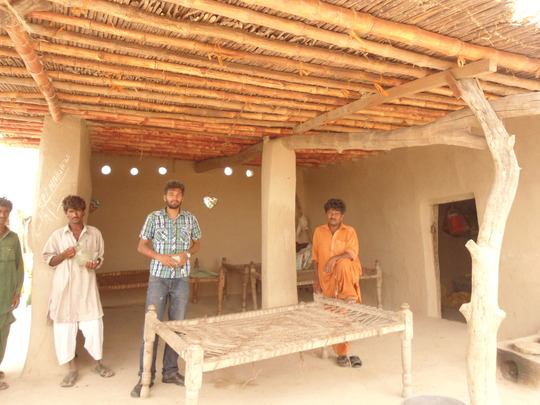 Villagers very happy upon support of roofing kits