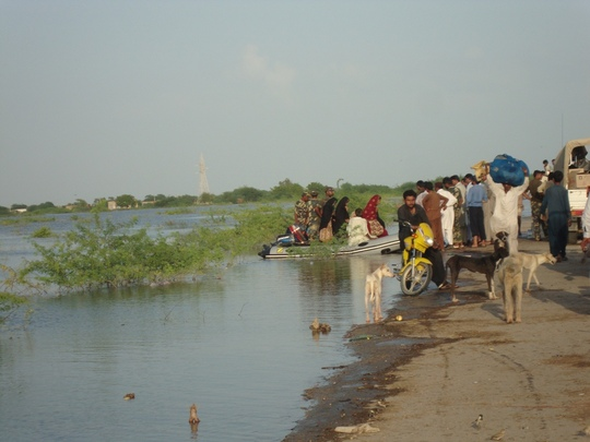 Women rescued from villages near Jhudo