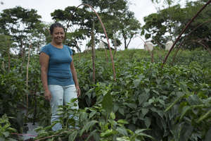 Carmen is a health promoter in Tierra Nueva
