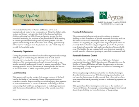 Futuro_del_Maana_Village_Update_Autumn_2006.pdf (PDF)