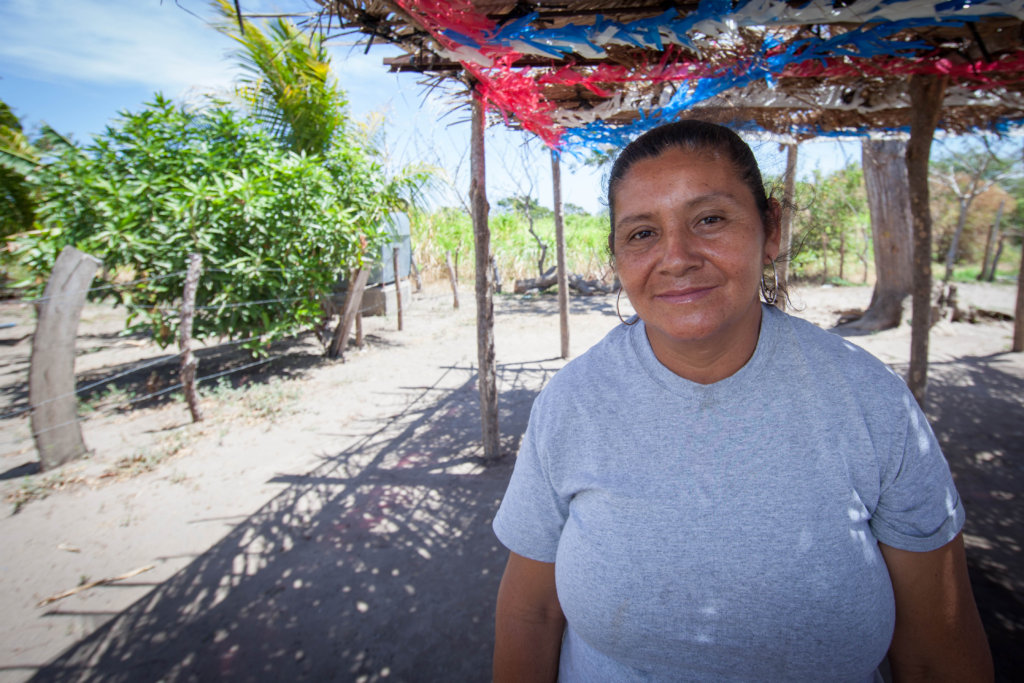 Migdalia is a brigadista in Luz, Nicaragua