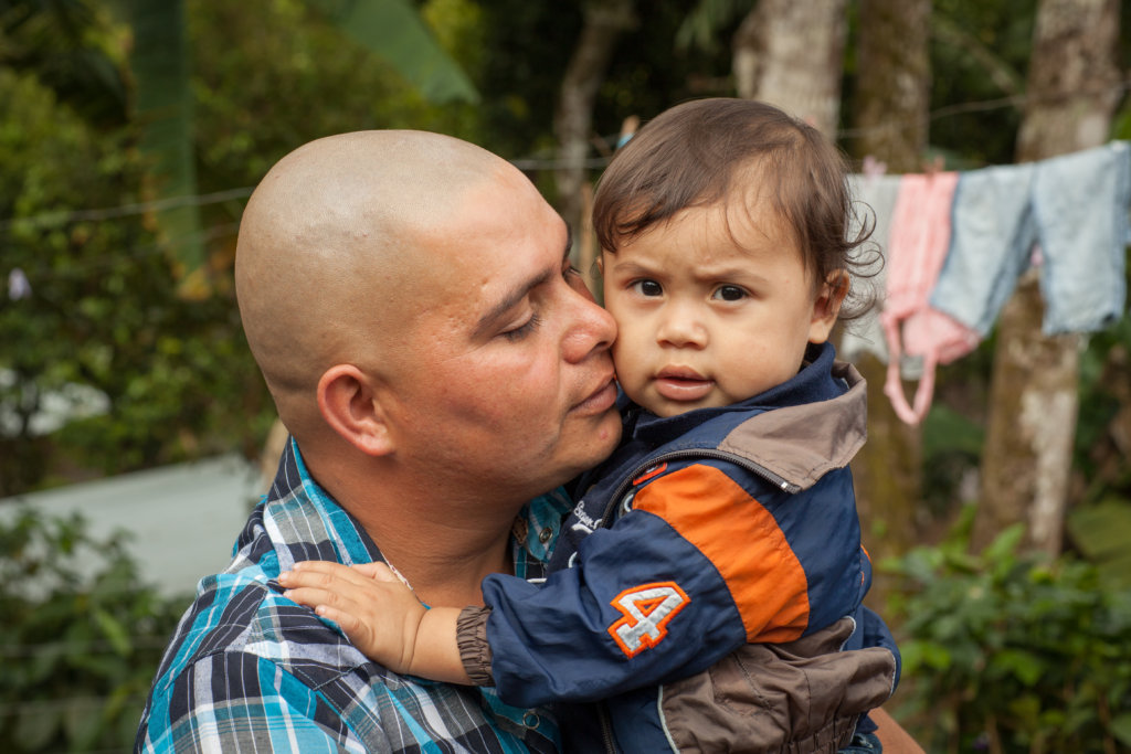 Brigadistas helped Carlos feed & care for Carlito