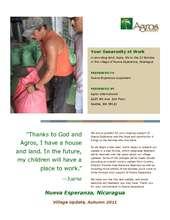 Nueva Esperanza Autumn 2011 Update (PDF)