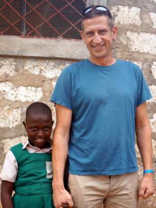 Hope and sponsor Clive