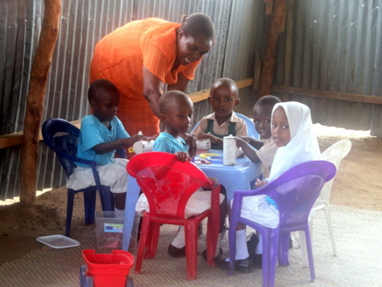 Other activities for the nursery children