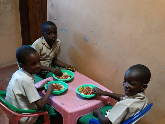 Our happy well-fed children