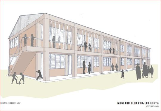 Proposed new building
