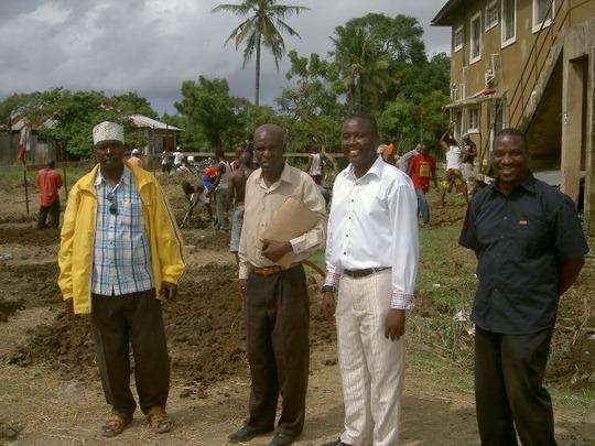 Local dignitaries
