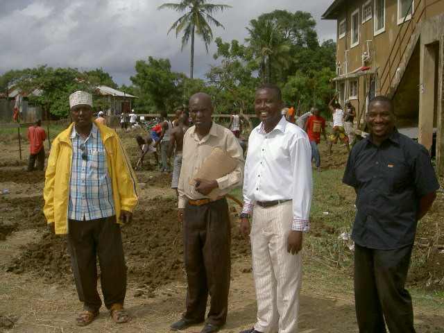 Local dignitaries