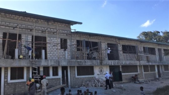 School building Oct 2020