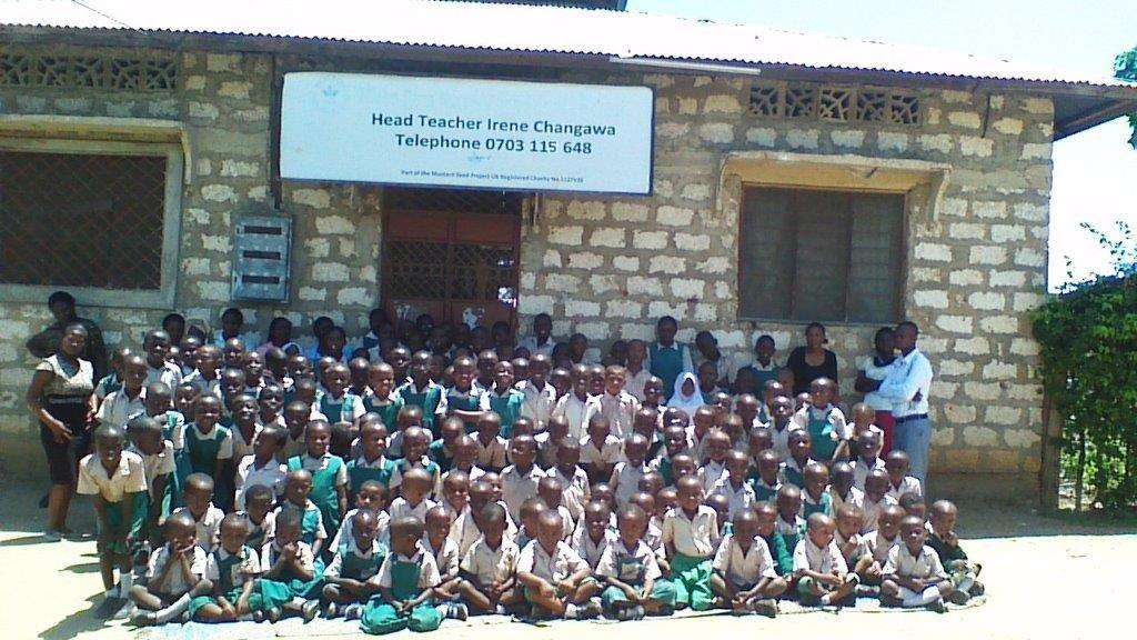 Whole school in November 2015
