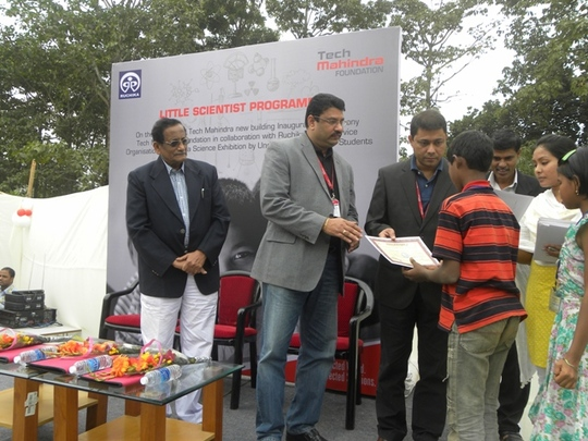 Certificate distribution to Little Scientists