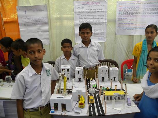 Science Exhibition by Slum Children
