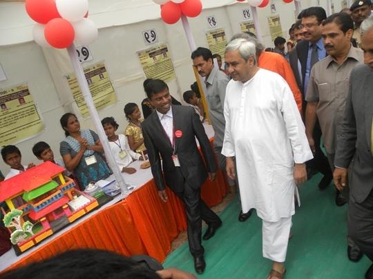 Science model visit by CM, Odisha