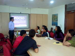 Workshop with caregivers on POCSO ACT