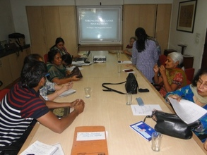 Mentor's meeting in progress