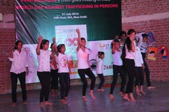 Anti-trafficking Dance Performance