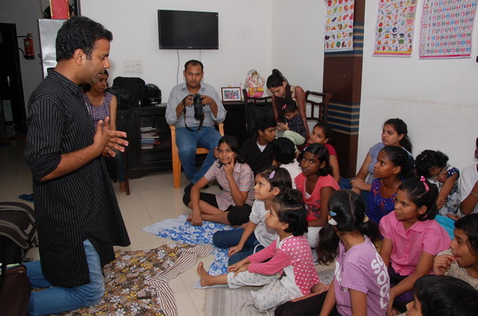 Disaster management workshop at the Home