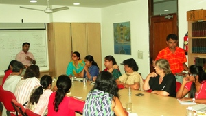 "Workshop with Mentor on ""Motivating the Caregiv"