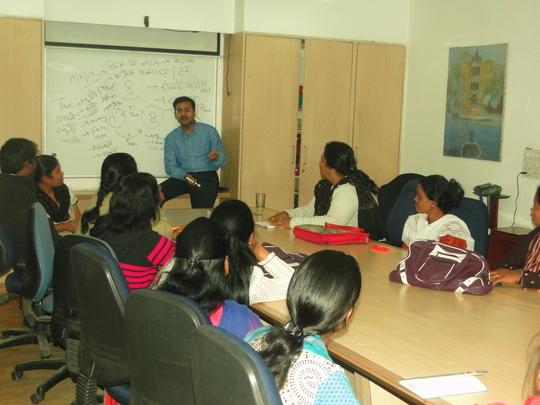 """SWINE FLU (H1N1)  workshop at Udayan Care"