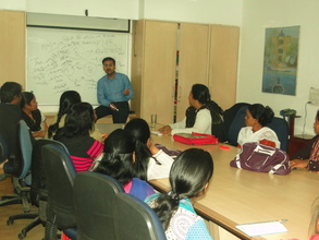 """SWINE FLU (H1N1)  workshop at Udayan Care"