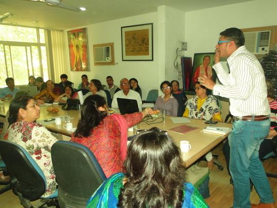 Caregiving Workshop for Caregivers at Udayan Care