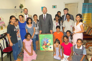 H.E French Ambassador's Visit to Udayan Ghar