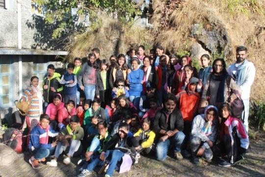 Auro Camp at Van Niwas, Nainital