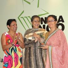 Udayan Care winning India Ngo Awards 2011