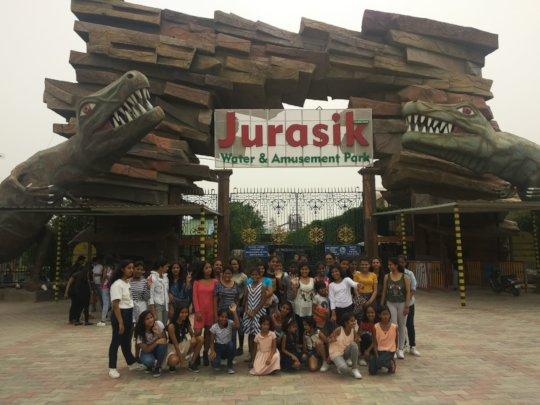 A day in Jurasik Park