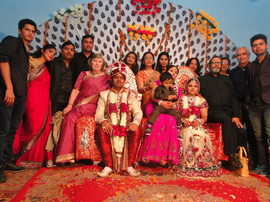 Wedding bells in our Home