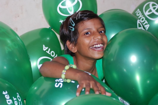 Bright and healthy smile of Rupali