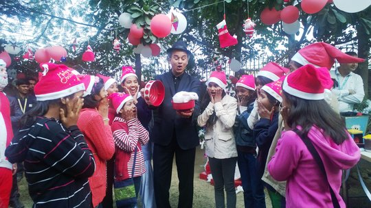 Another Christmas celebration  at a Corporate