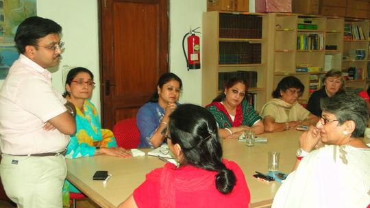 Workshop with Mentor parents