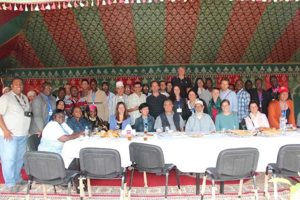 UNDP GEF SGP & HAF Team Group Shot