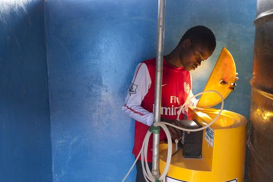 Safe drinking water for Kibera