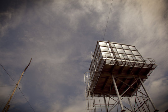From the Summer Institute--Tower, Afternoon Light