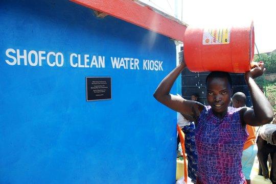 Clean Water Kiosk