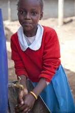 Jackie, student at the Kibera School for Girls