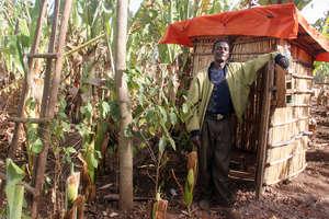 Household latrine in Dita