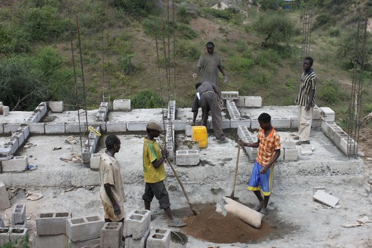 Building Latrines in Konso