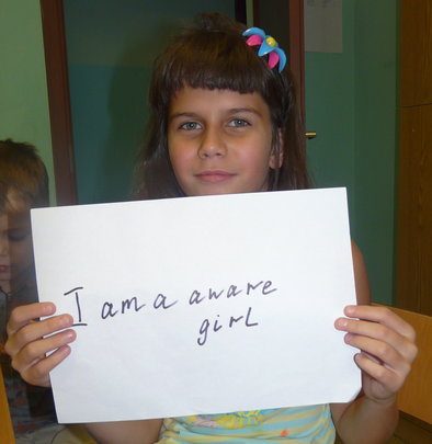i am an aware girl