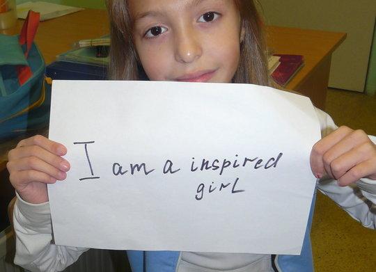 i am an inspired girl