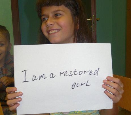 i am a restored girl