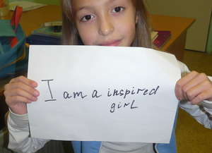 i am an inspired girl