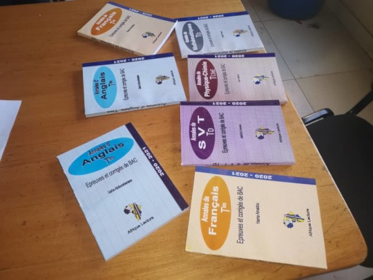 Books for Bac preparation