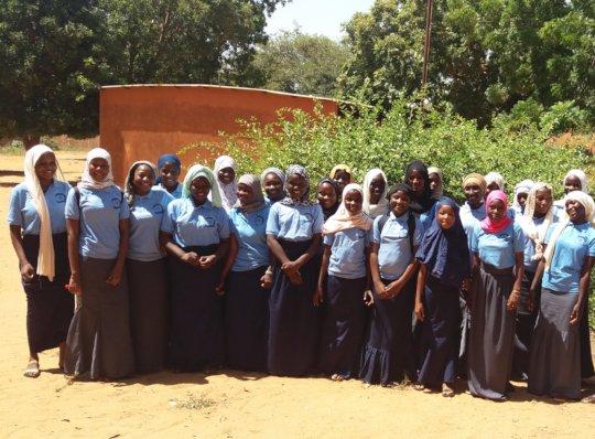 Group of Scholarship Girl Recipients