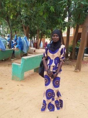 Farida first day at Medical school